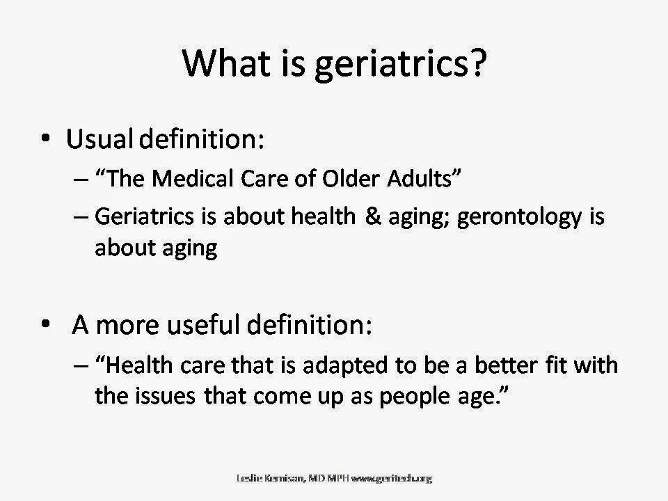 of older adults Definition